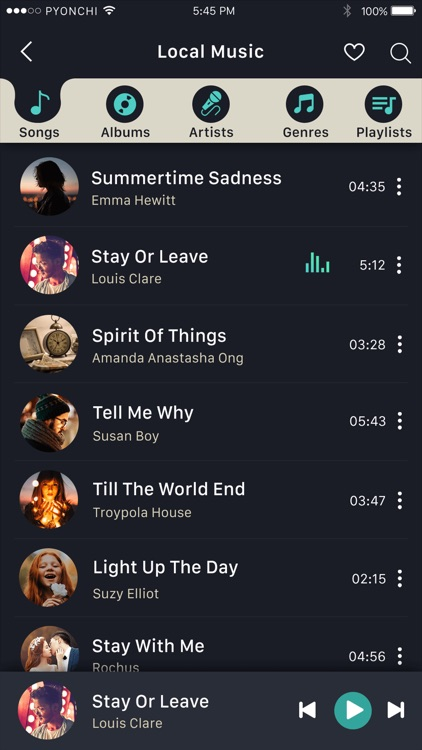 MusicOZ: Music player screenshot-9