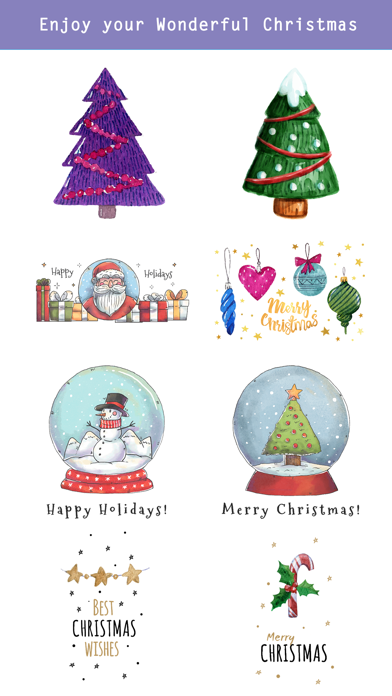 Beautiful Watercolor Christmas screenshot three