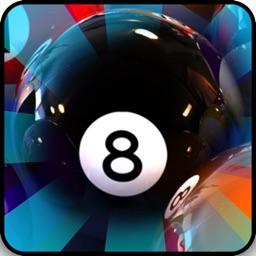 3D 8-Ball Billiard Pool Flick