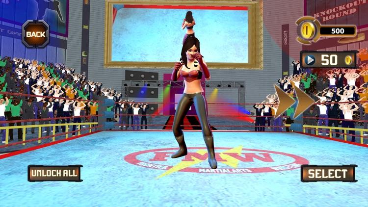 Girl Wrestling Superstar War screenshot-3