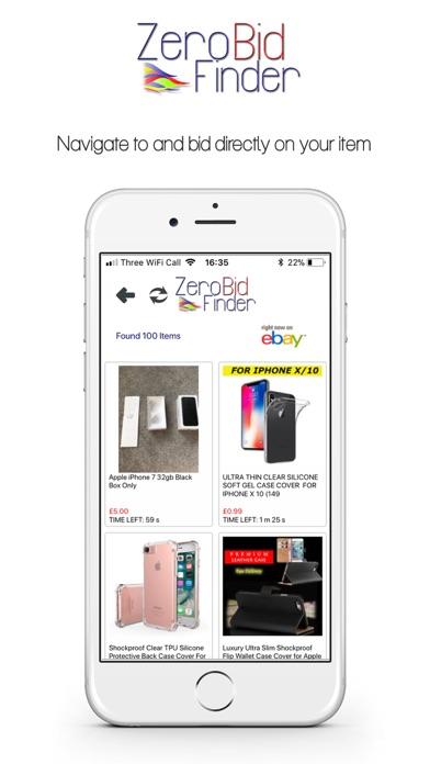 Zero Bid Finder For Ebay Plus review screenshots