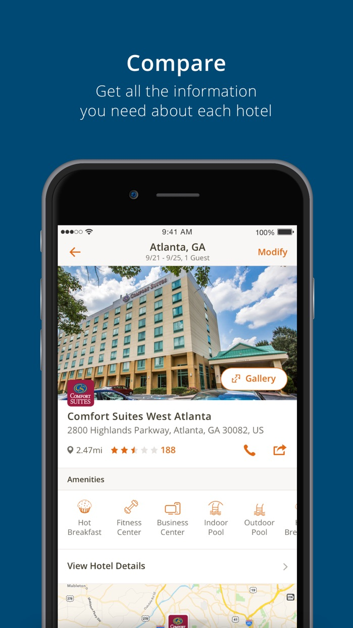Choice Hotels Screenshot