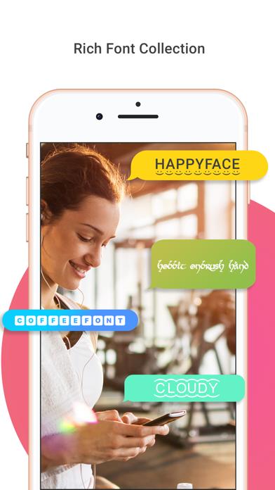 Social Ant - Crazy Fonts Screenshot