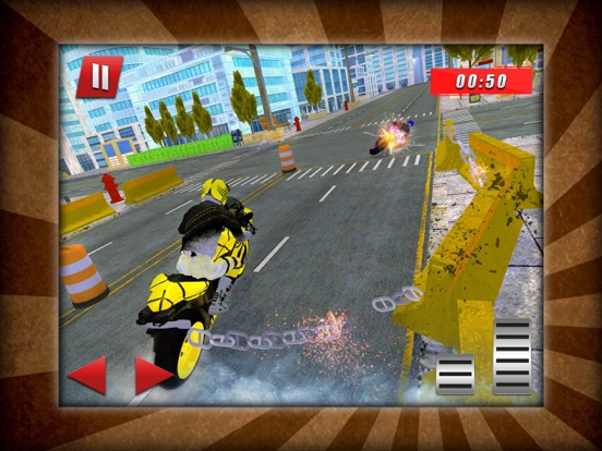 Bike Race Chained Stunts screenshot #3