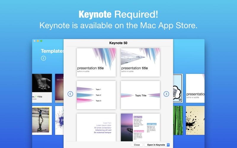 Templates for Keynote (Nobody)