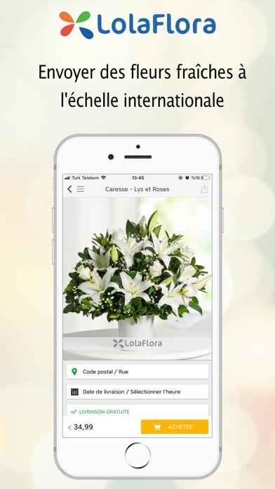 Screenshot #2 pour LolaFlora - Livraison de fleur