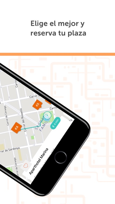 Screenshot for Parclick - Encontrar Parkings in Colombia App Store