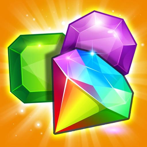 Gem Drop: Match-3 Puzzle Mania iOS App