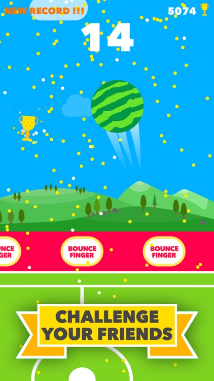 Bounce Finger Soccer screenshot-3