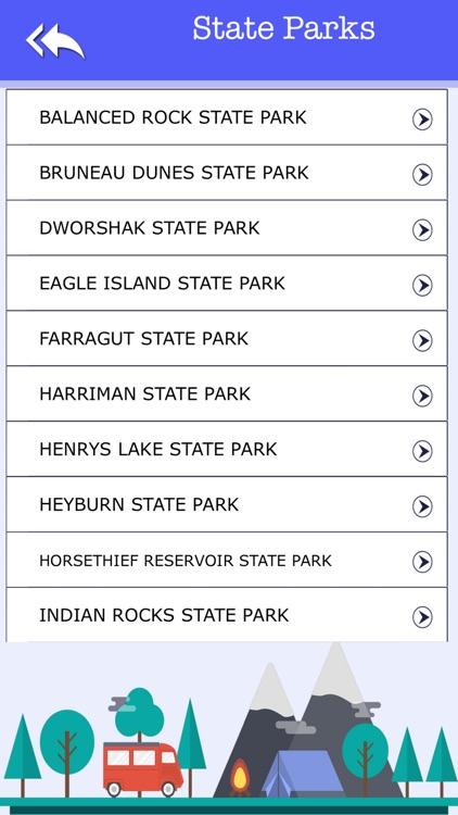 Idaho Camping & State parks screenshot-3