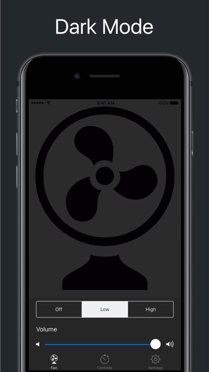 Deep Sleep Fan for Bedtime screenshot-3