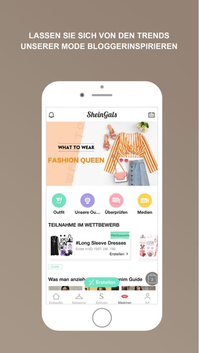 Screenshot for SHEIN-Shopping und Fashion in Germany App Store