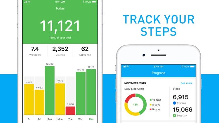Runtastic Steps - Pedometer screenshot-0