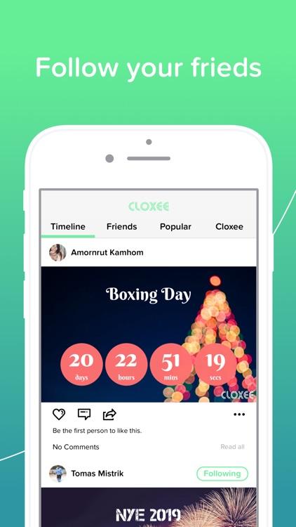 Cloxee - Countdown Widget screenshot-5