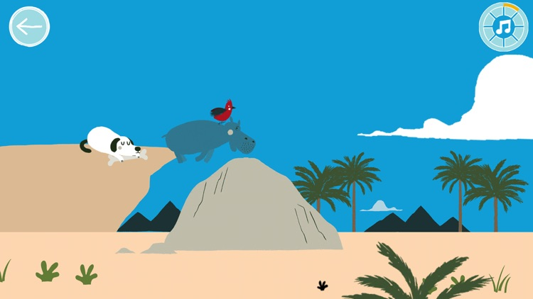 Jazzoo The Party Hippo Game screenshot-3