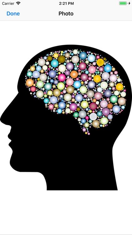 Cranial Abstract Art Stickers screenshot-3