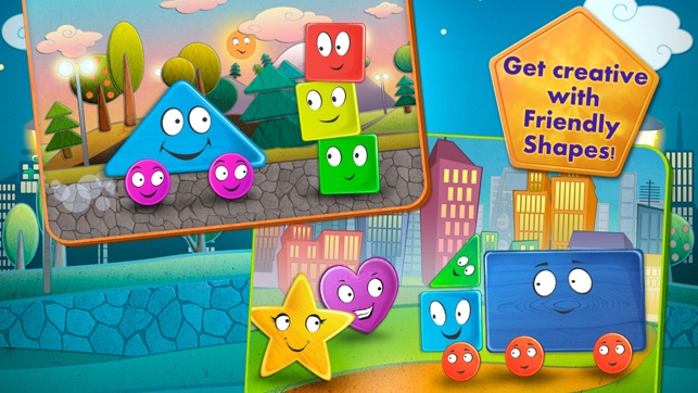 Friendly Shapes Storybook On The App Store