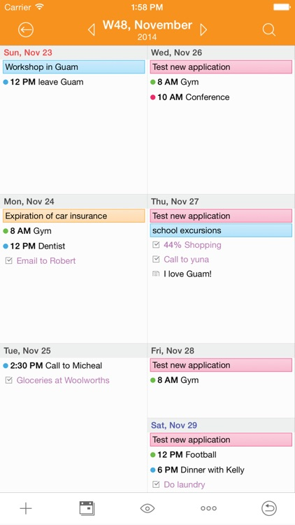 Awesome Calendar Lite - Personal Planner