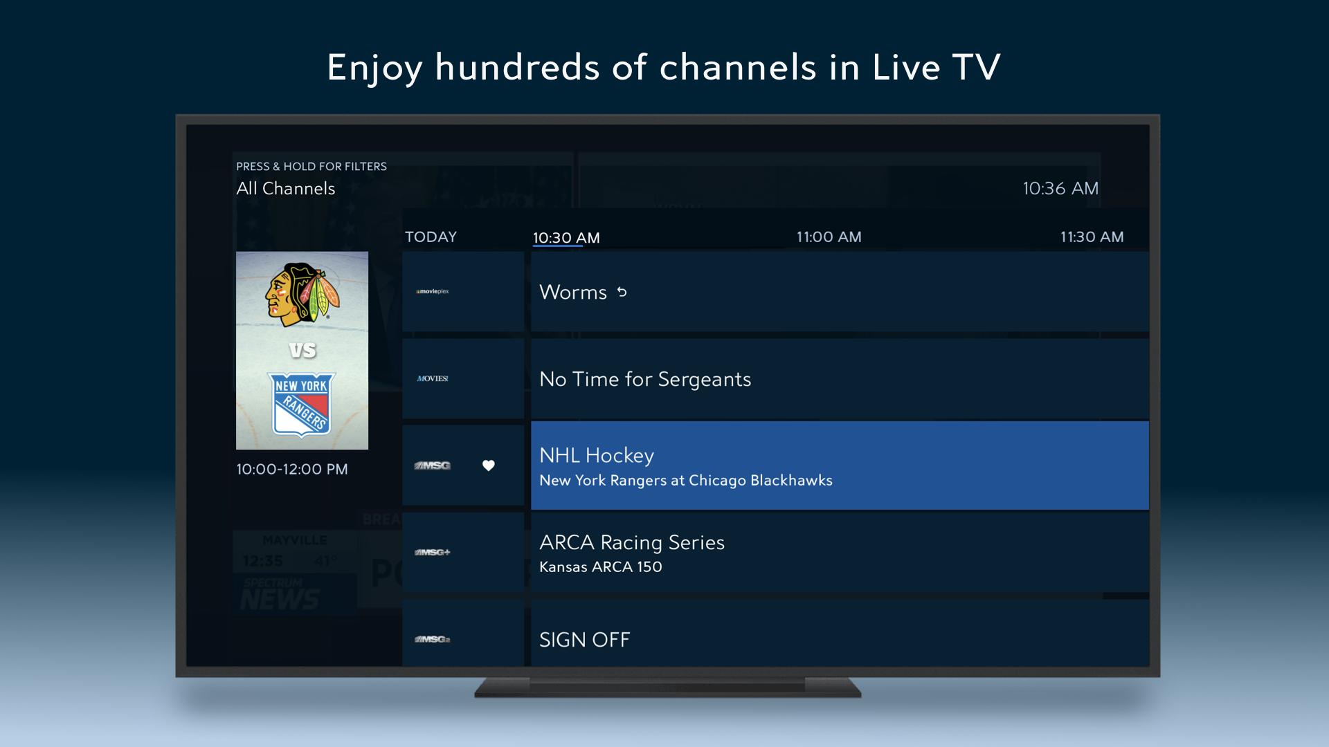 Spectrum TV screenshot 14