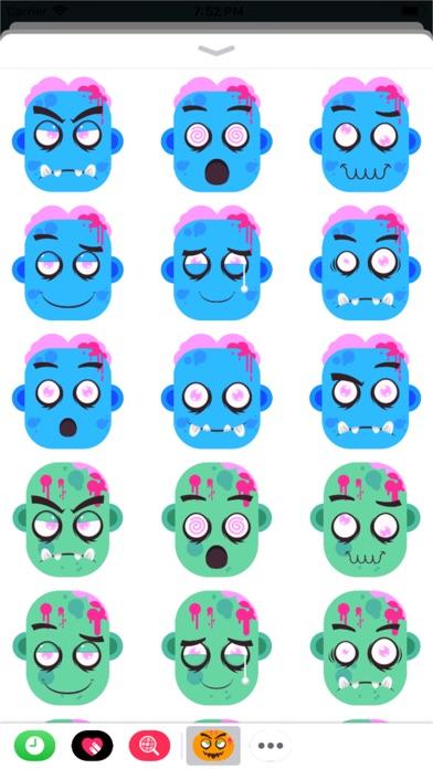 Eeriemoji - Halloween Stickers screenshot 2