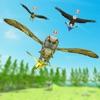 森林游戏中的鸟类