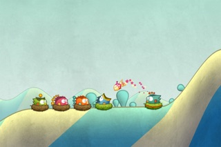Screenshot for Tiny Wings in France App Store