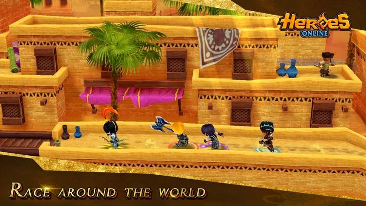 Hero Online screenshot-4