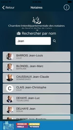 Notaires Nord & Pas-De-Calais On The App Store