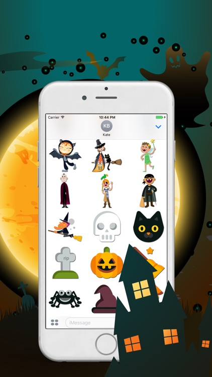 Cute And Scary Halloween Stickers
