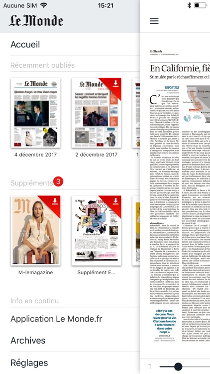 Journal Le Monde screenshot-3