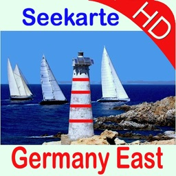 Marine: Germany East HD - GPS Map Navigator