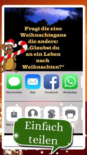 App Weihnachtsgrüße.Weihnachtsgrüße Mal Lustig On The App Store