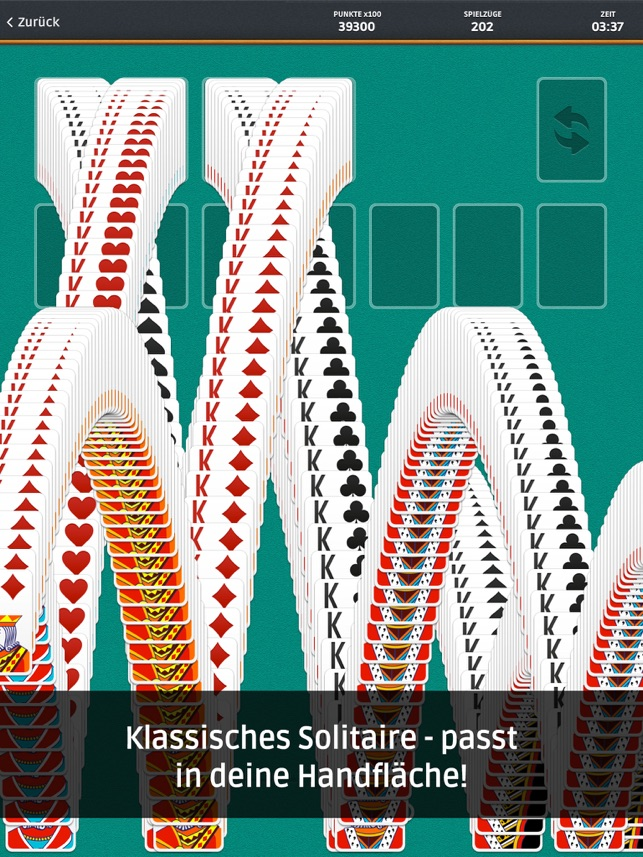 Solitär (Solitaire) im App Store