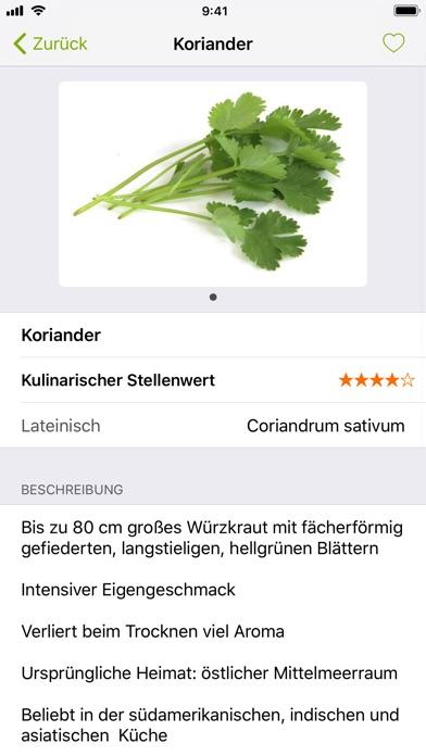 Screenshot for Food Guide in Switzerland App Store