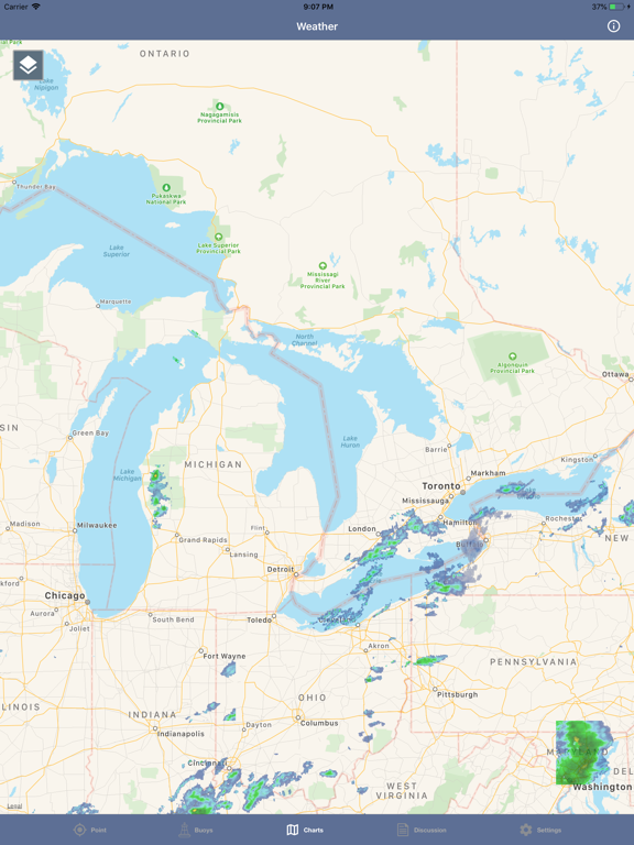 Great Lakes Boating Weather screenshot 16