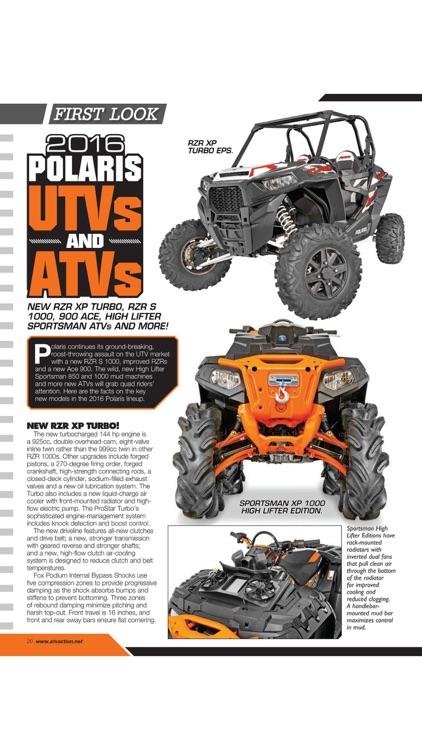 ATV UTV ACTION Magazine