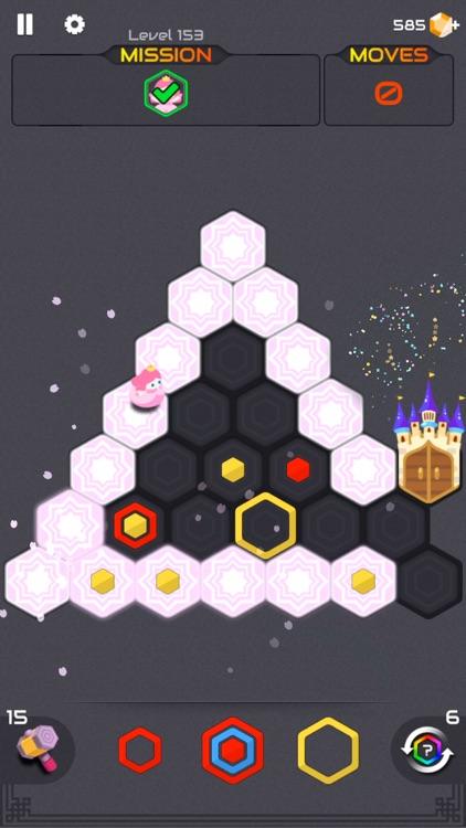 Zombie Blast : Puzzle Hexa