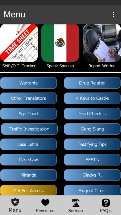 The US Police App!