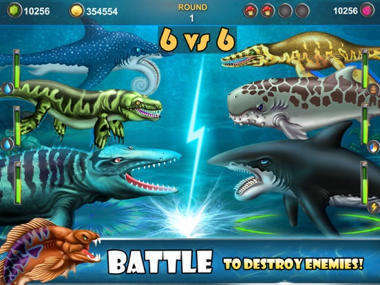 Dino Water World-Dinosaur game для iPad
