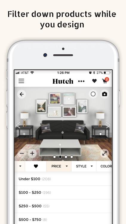 Hutch - Your virtual decorator screenshot-3