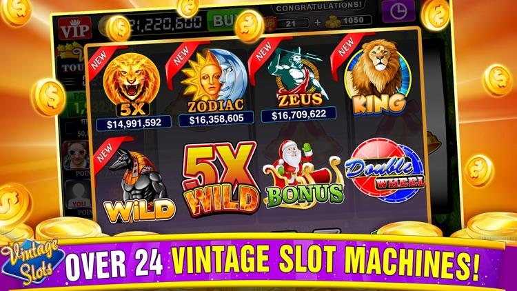 Vintage Slots - Old Las Vegas! screenshot-3