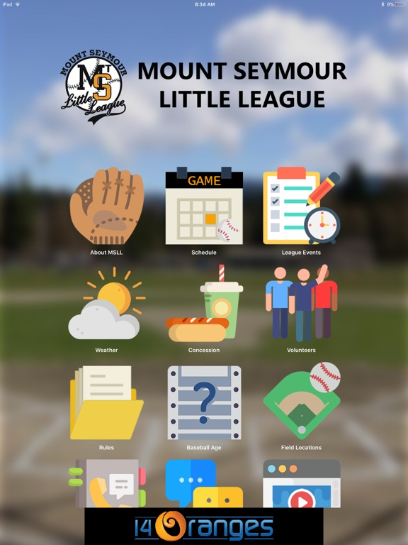 the league app locations