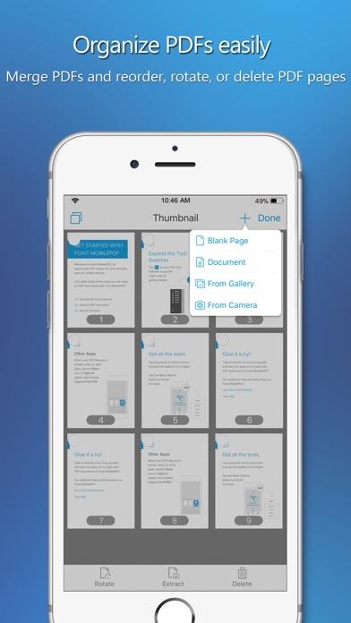 Foxit MobilePDF Business Screenshots