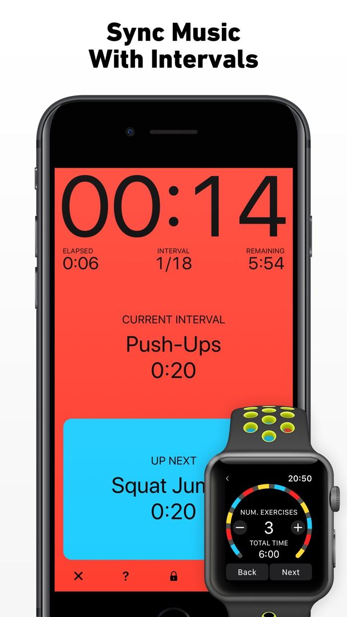 Seconds - Interval Timer HIIT Screenshot