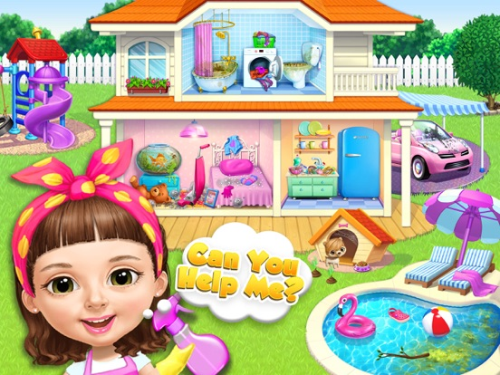 Скачать Sweet Baby Girl Cleanup 5 - No Ads