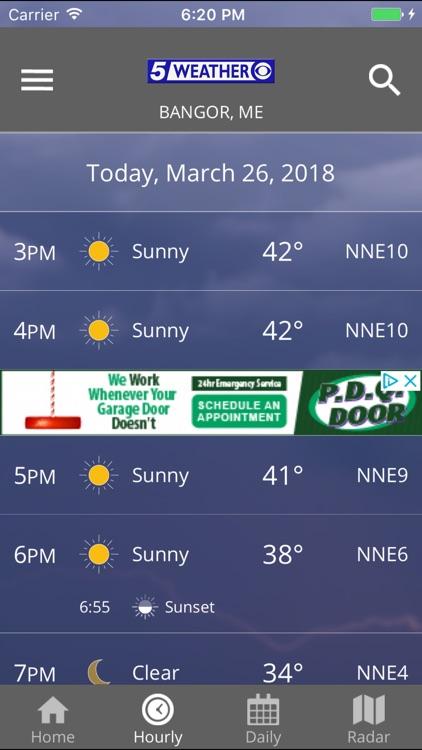 WABI TV5 Weather App
