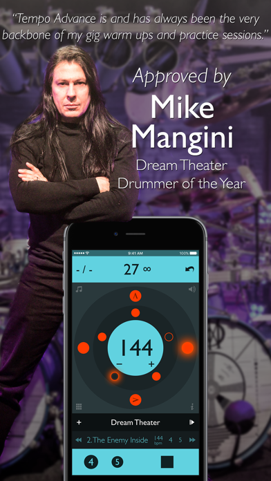 Screenshot for Tempo Advance - Metronome in China App Store