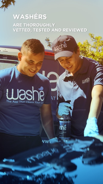 Washe - Car Washes Delivered screenshot-4