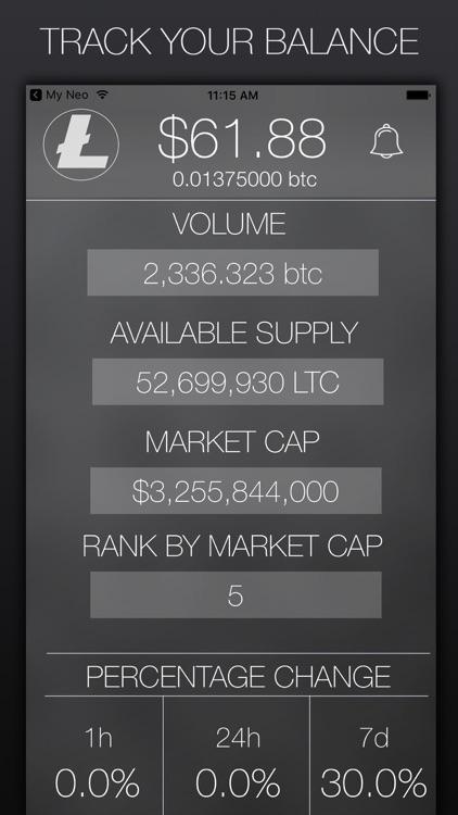 My Litecoin - Crypto Market Data screenshot-3