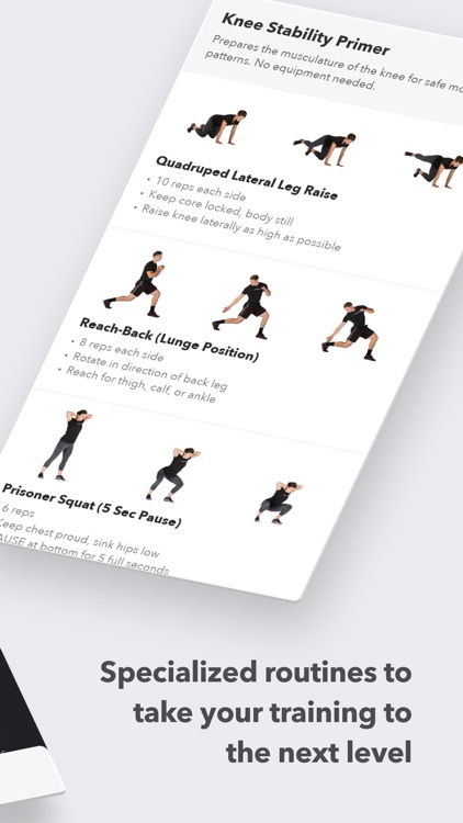 Volt: Strength Training Workouts for Your Sport screenshot-4